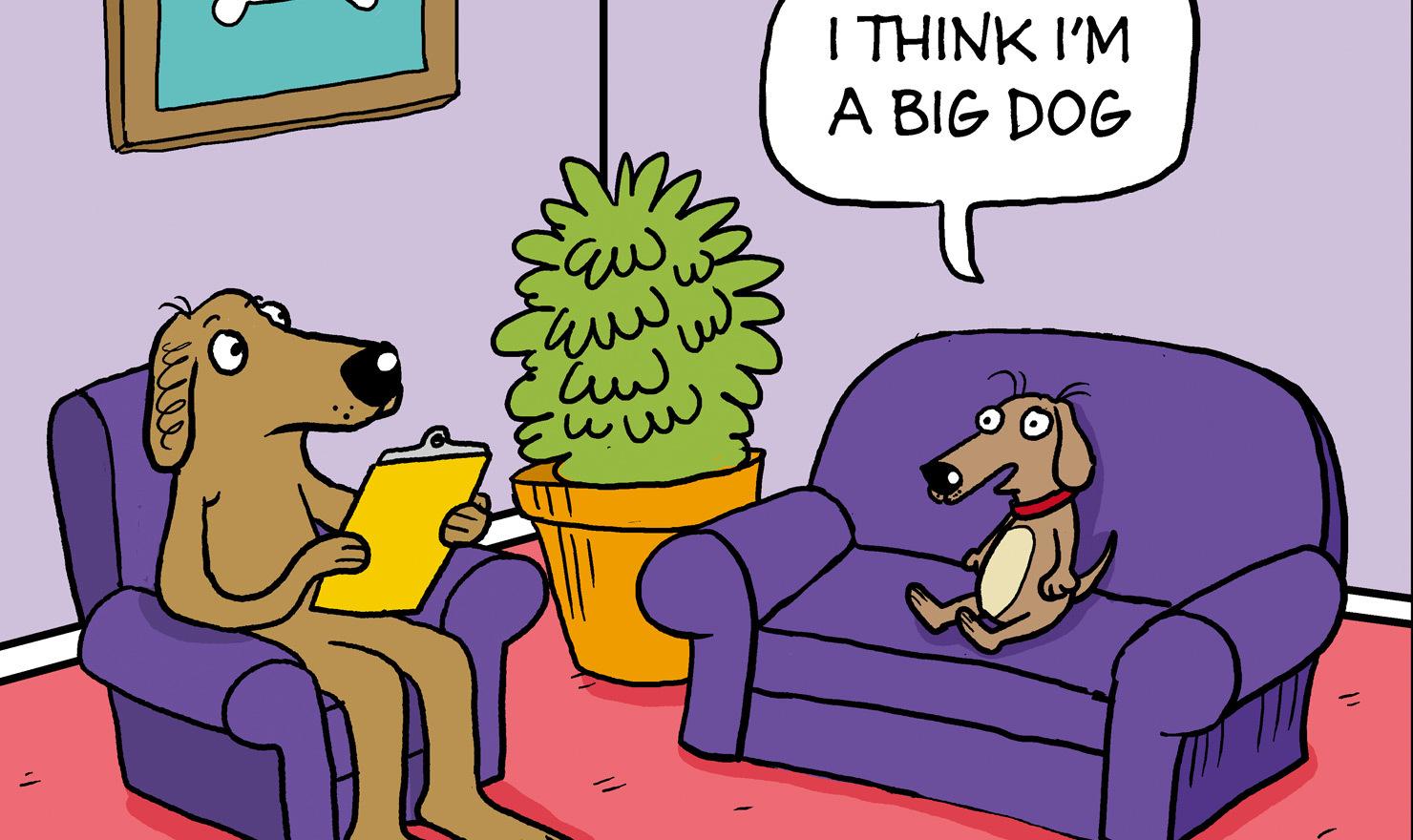 Mind eating gary patterson sunday comic strip