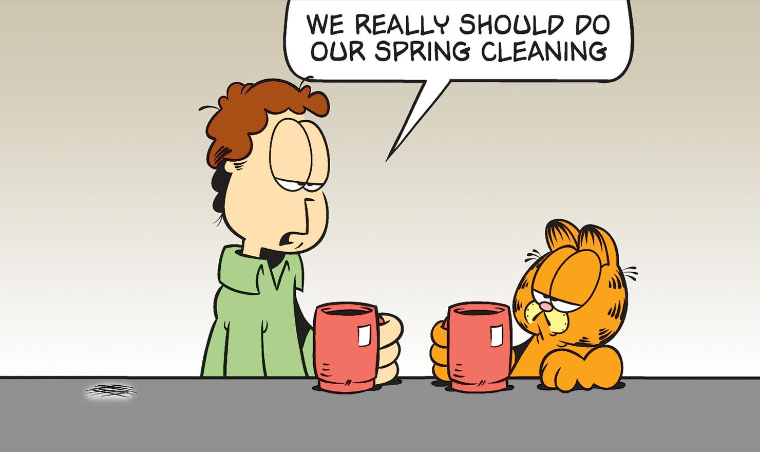 Dust Off The Cobwebs With These Spring Cleaning Comics ...