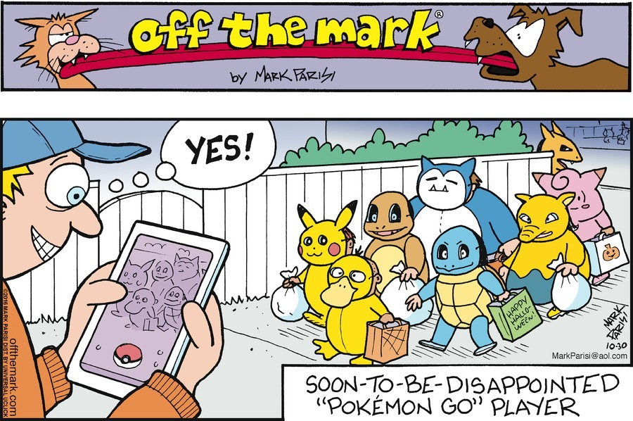 Pokemon Go One Year Later The Comics That Caught Em