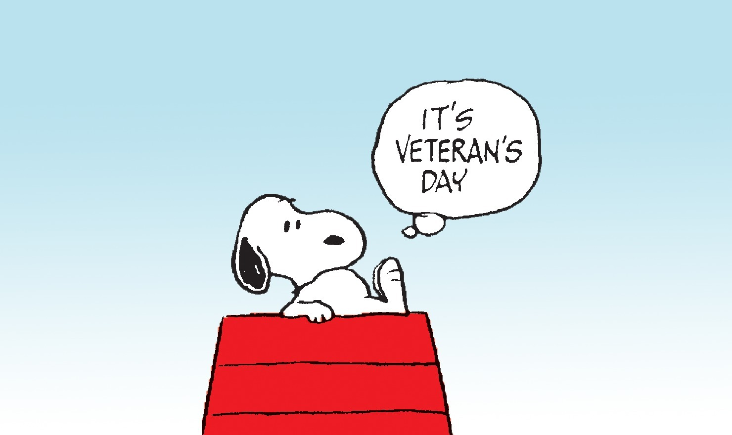 Classic 'Peanuts' Comics Commemorating Veterans Day