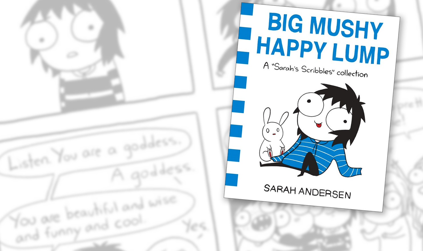Sarah Andersen Packs More Of Her Best Comics Into One 'Big Mushy Happy Lump' [Interview]