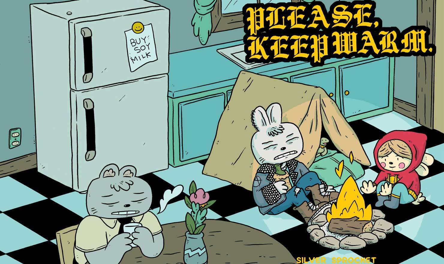 Meet Your Creator: Michael Sweater Of 'Please Keep Warm'