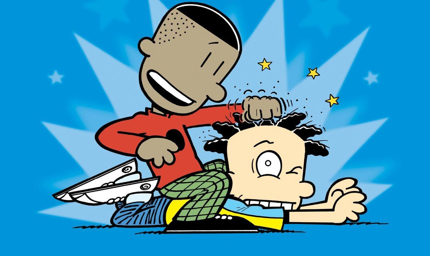 'Big Nate' Creator Lincoln Peirce Answers 'What's a Little Noogie Between Friends?'