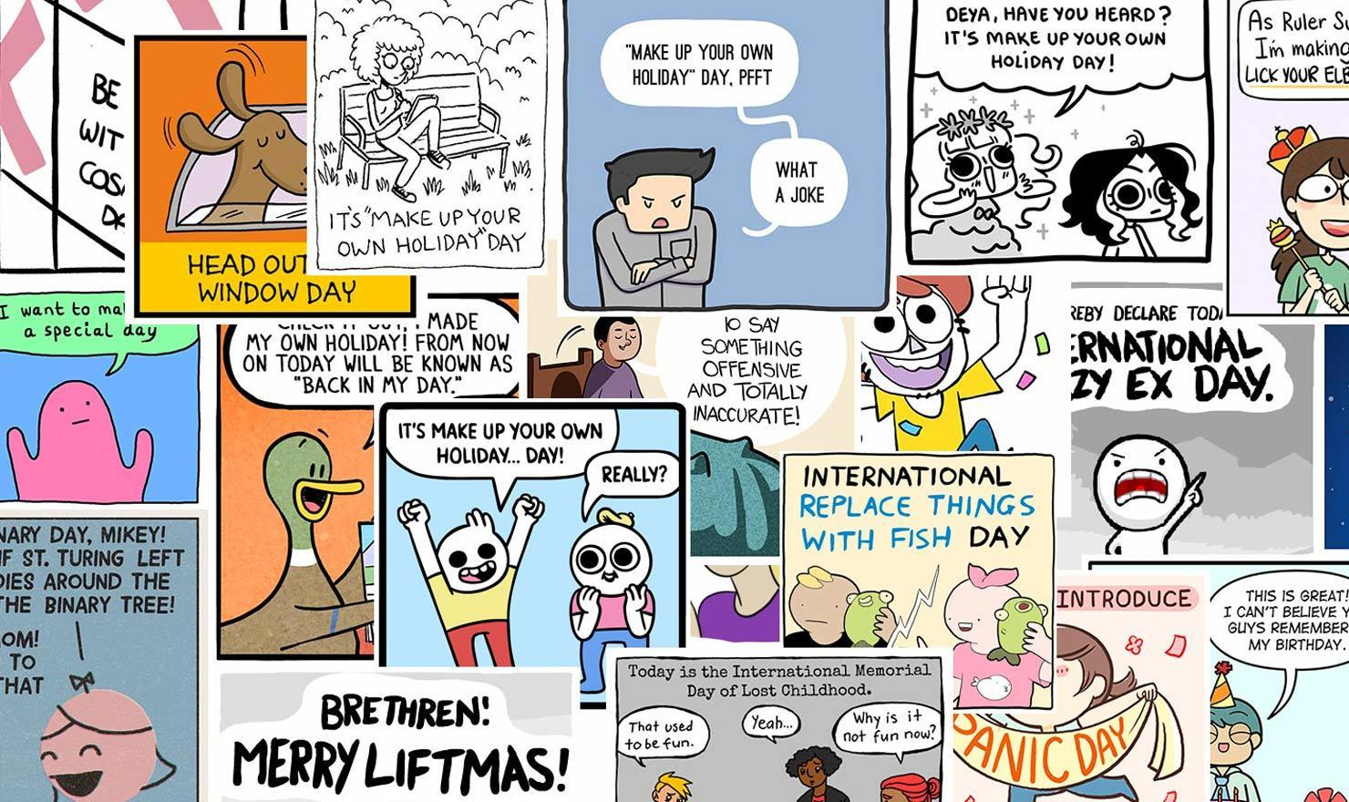 24 Awesome Cartoonists Make Up Their Own Holidays In These Hilarious Comics