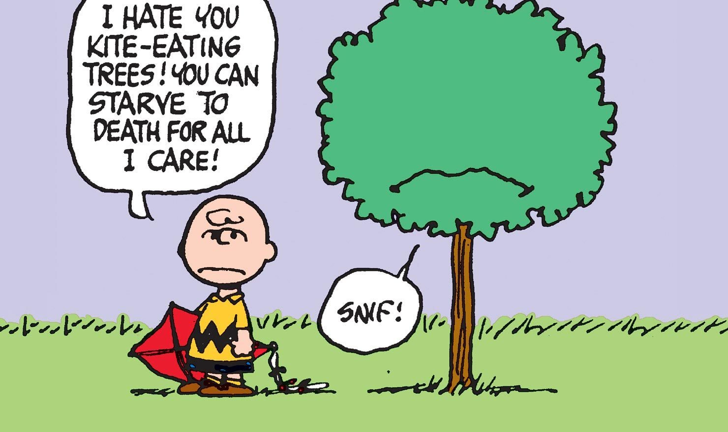 33 Kite-Eating Tree Comics: Charlie Brown's Shadiest Saboteur