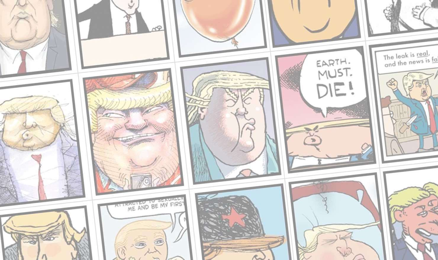 Orange is the New President: The Many Faces of Trump