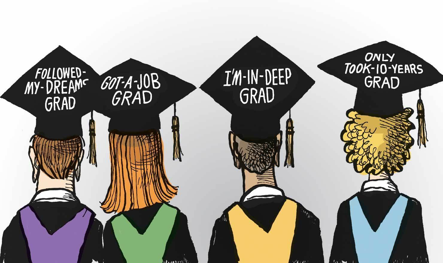 Get Ready For Adulthood With These Hilarious Graduation Comics
