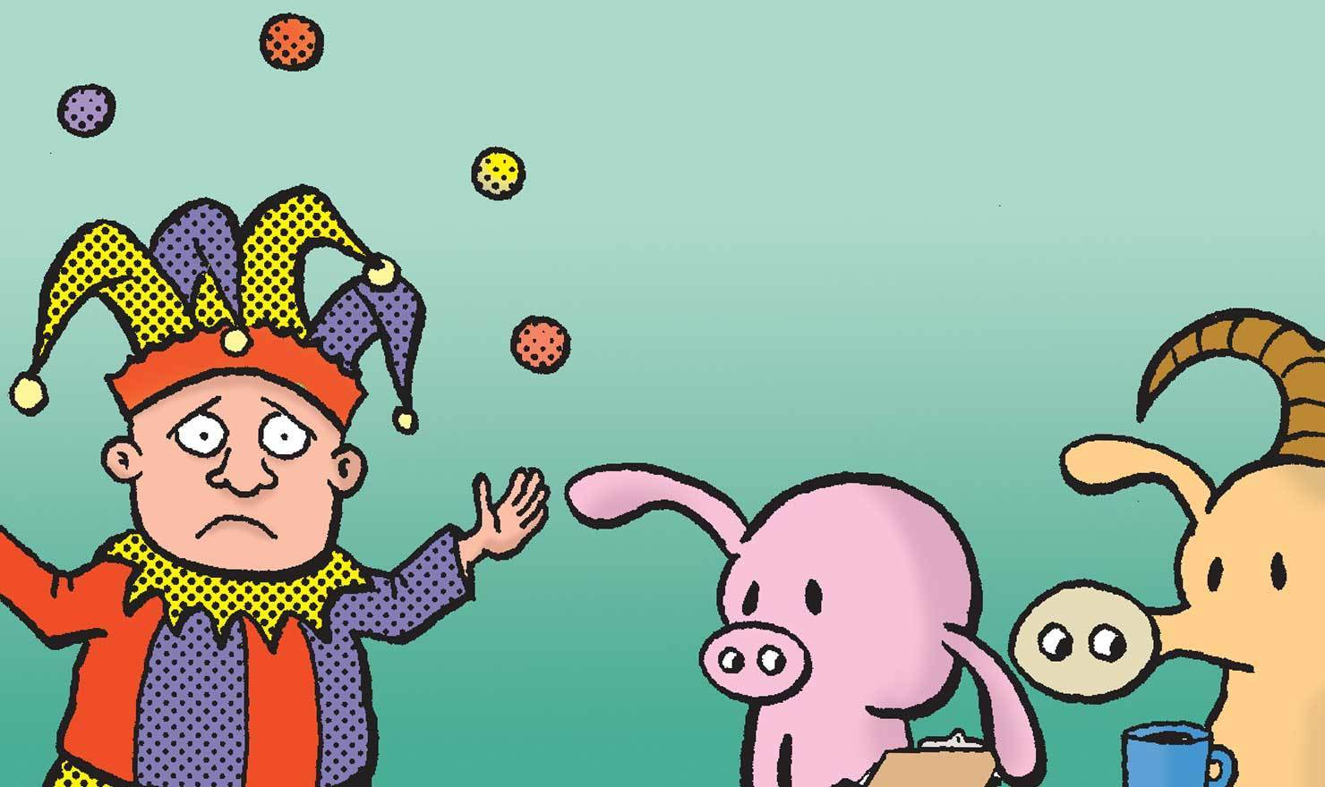 World Juggling Day Comics Will Keep Your Eyes Moving