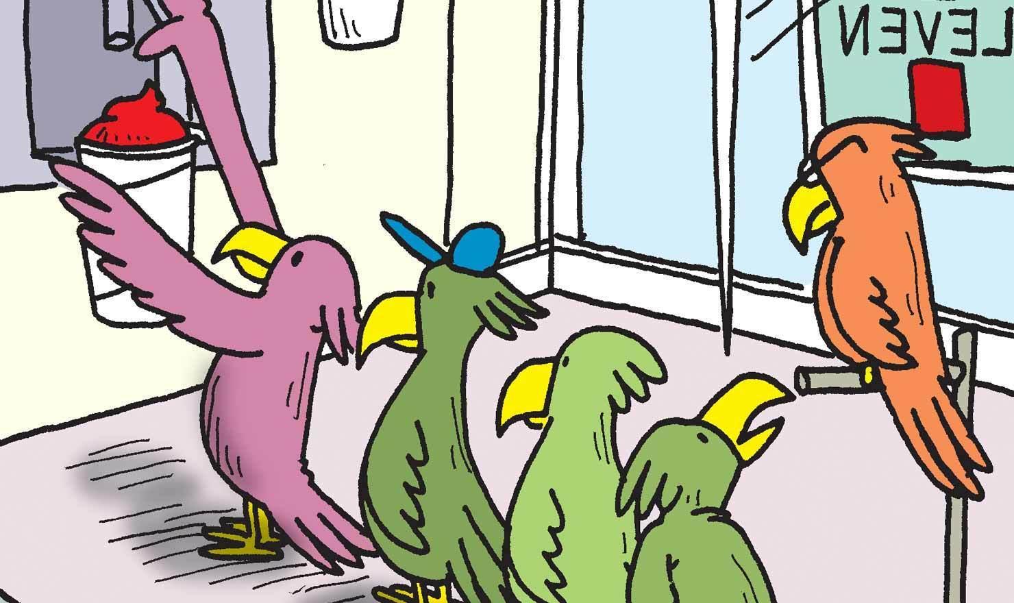 Slurp Down These Slurpee Comics On 7-11