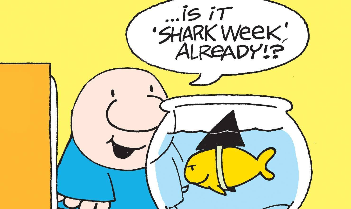 Shark Week Is Swimming With Comics