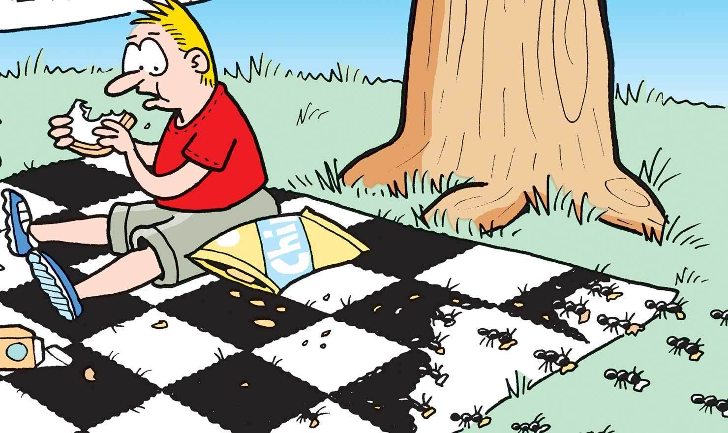 Ants Ruin Everything In These Picnic Comics