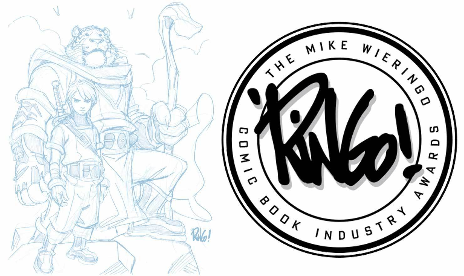Mike Wieringo Comic Book Industry Awards GoComics