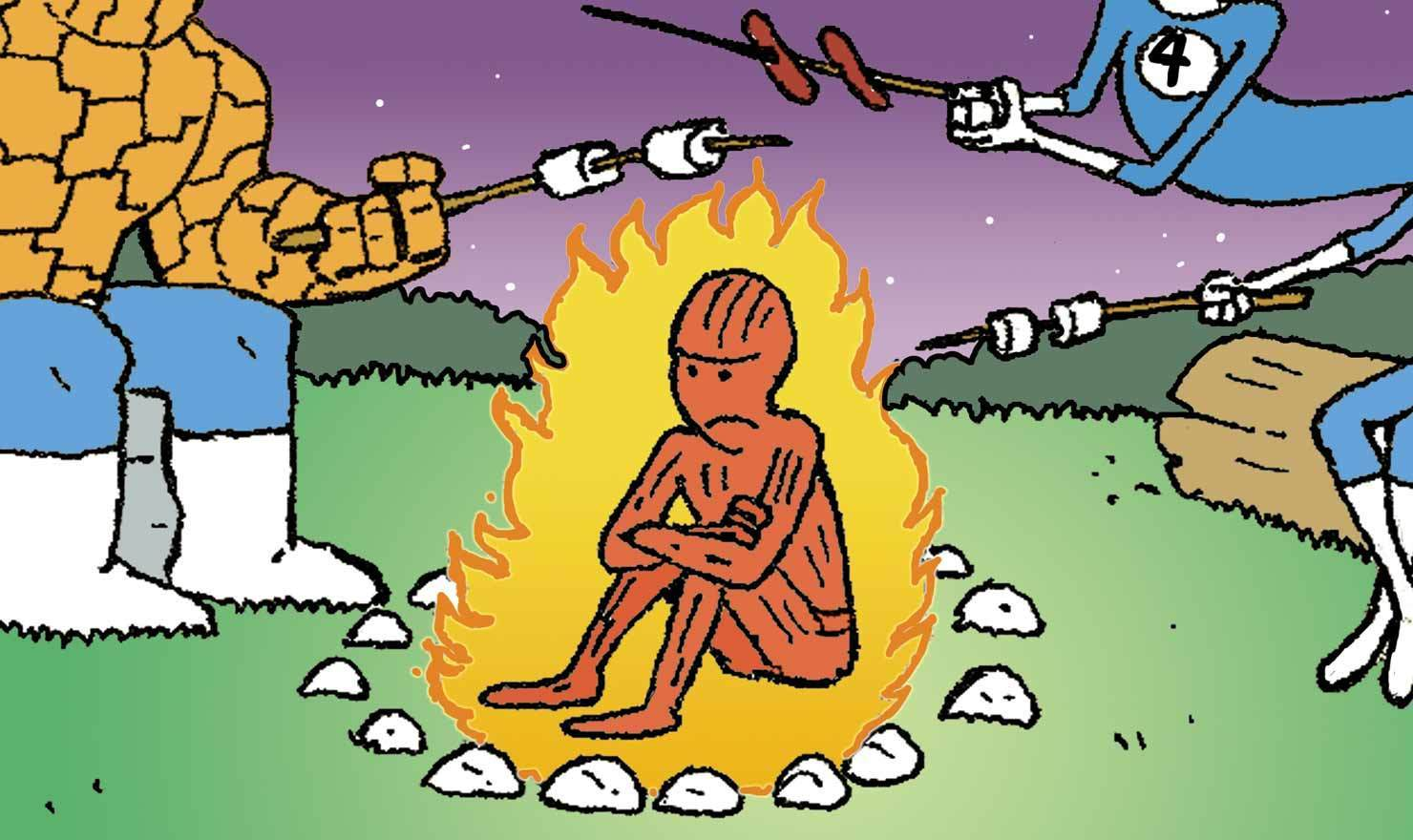 Warm Yourself Around These Campfire Comics