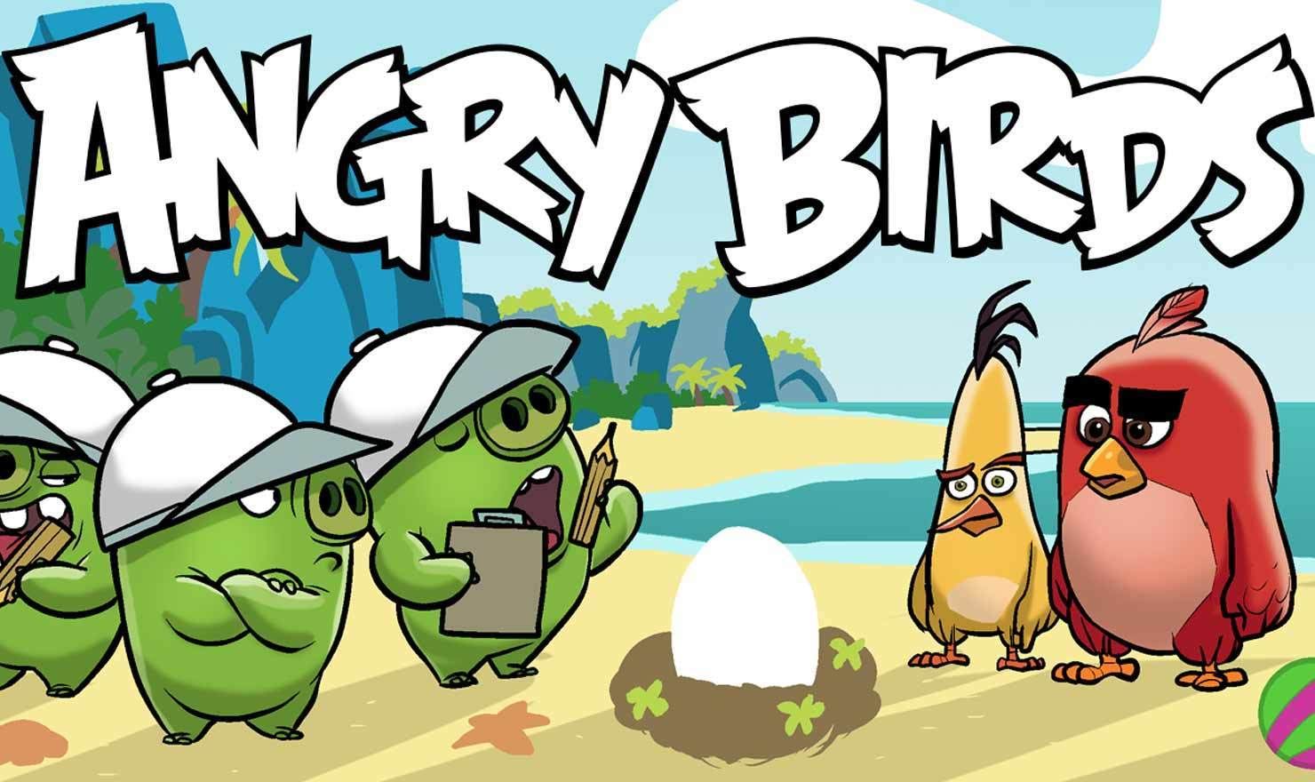 Angry Birds New Comic Strip