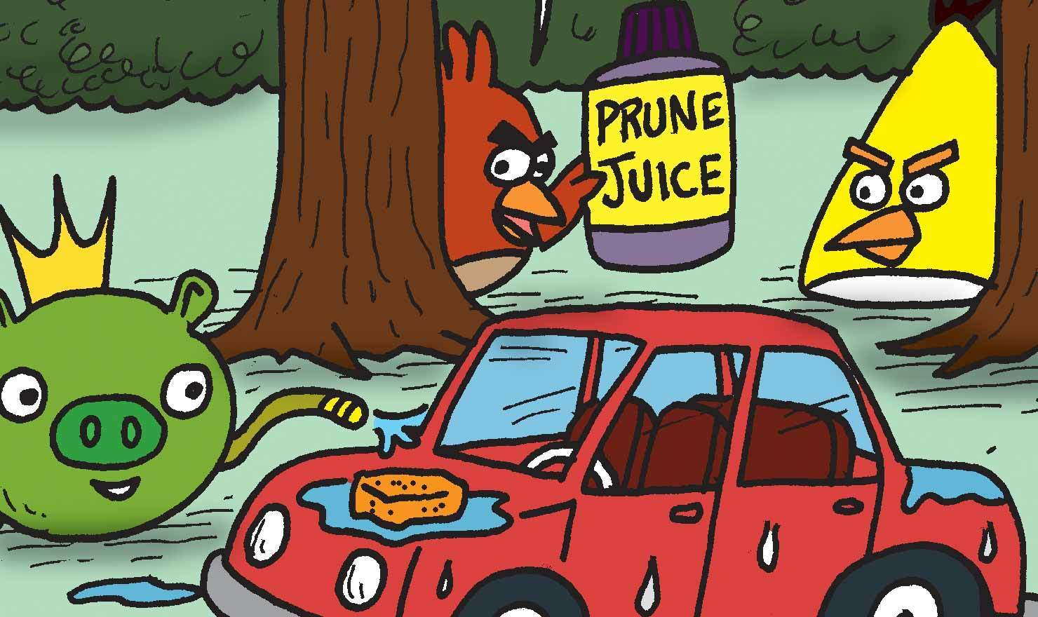 The Best 'Angry Birds' Comics From Before There Was An 'Angry Birds' Comic