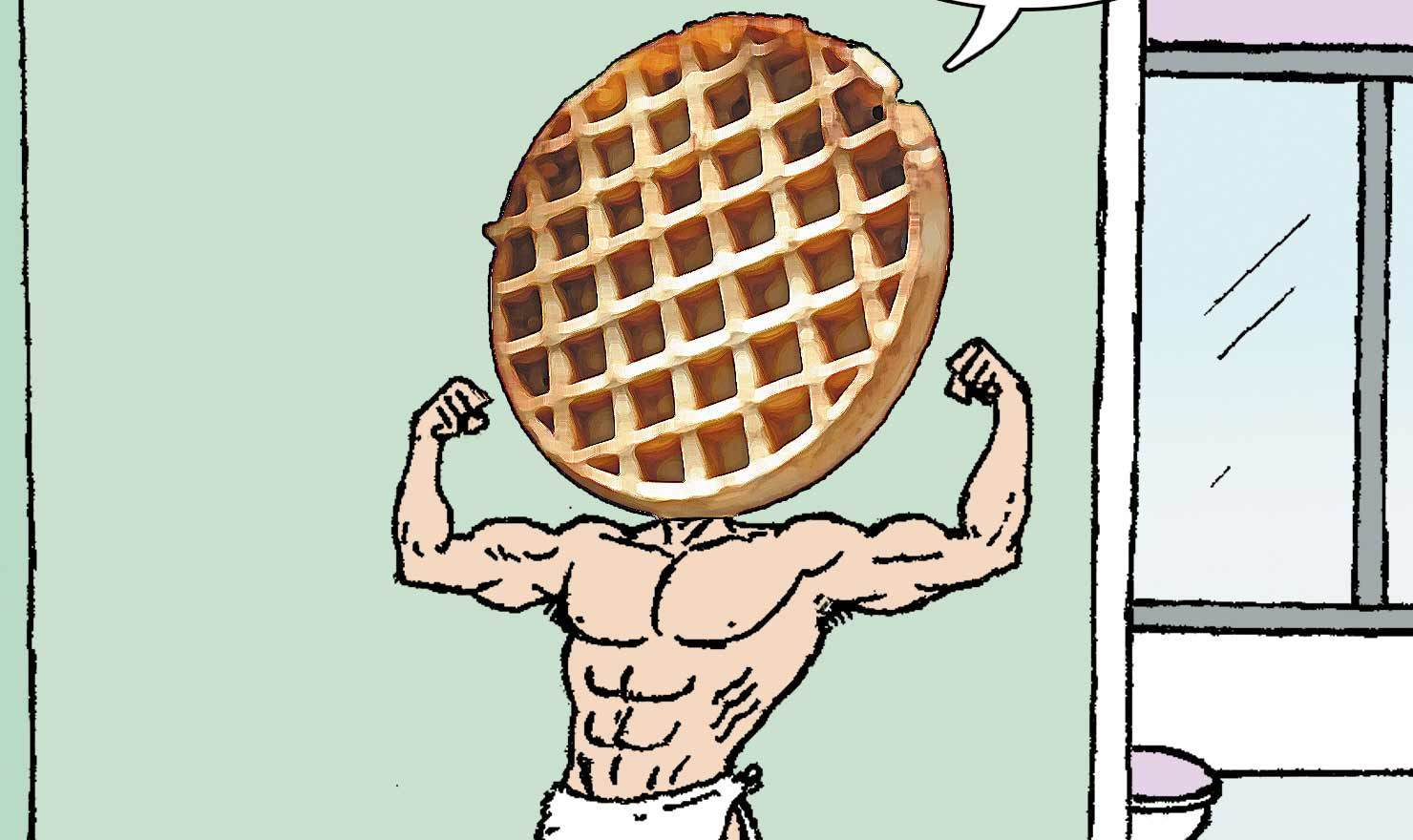 Waffle Day Comics You Won't Want To L'eggo Of