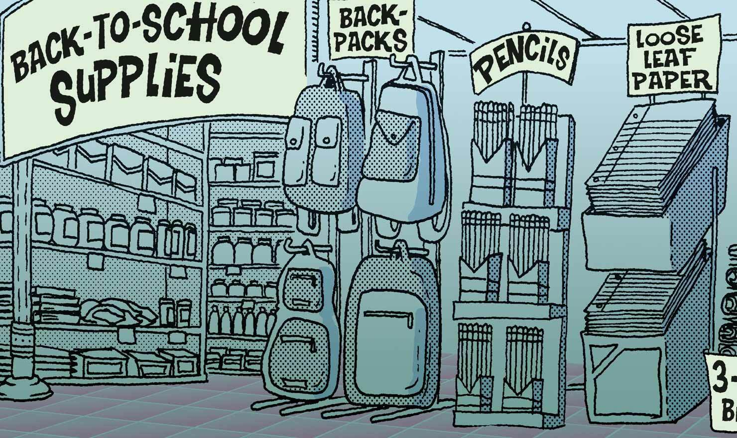 10 Comics That Make Back-To-School Shopping More Bearable