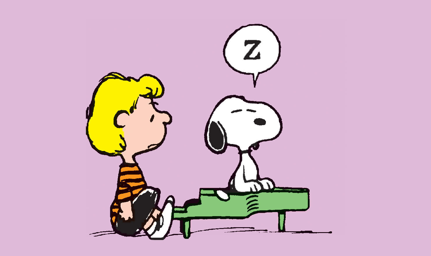 Piano Pain: 12 'Peanuts' Comics Showing Schroeder's Struggle