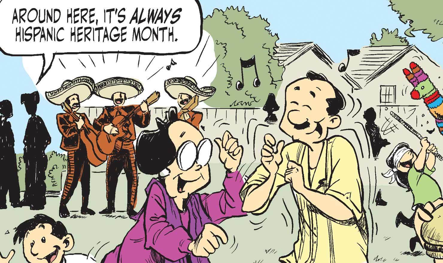 Hispanic Heritage Month Comics Bring Hilarity And Social Commentary