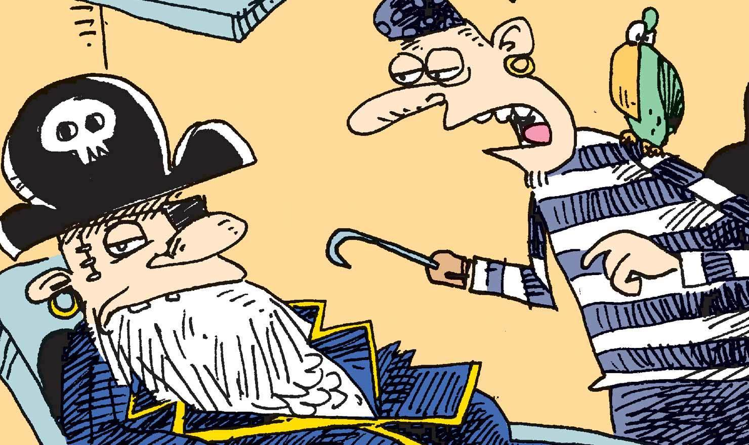 Talk Like A Pirate Day Won't Be Denied In These Comics, Matey