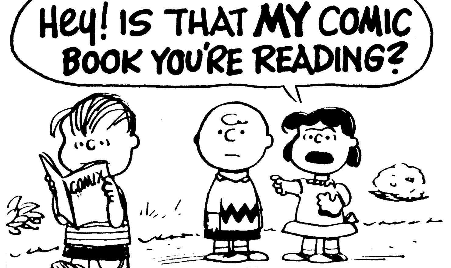 10 Times The 'Peanuts' Gang Lost Their Cool Over Comic Books