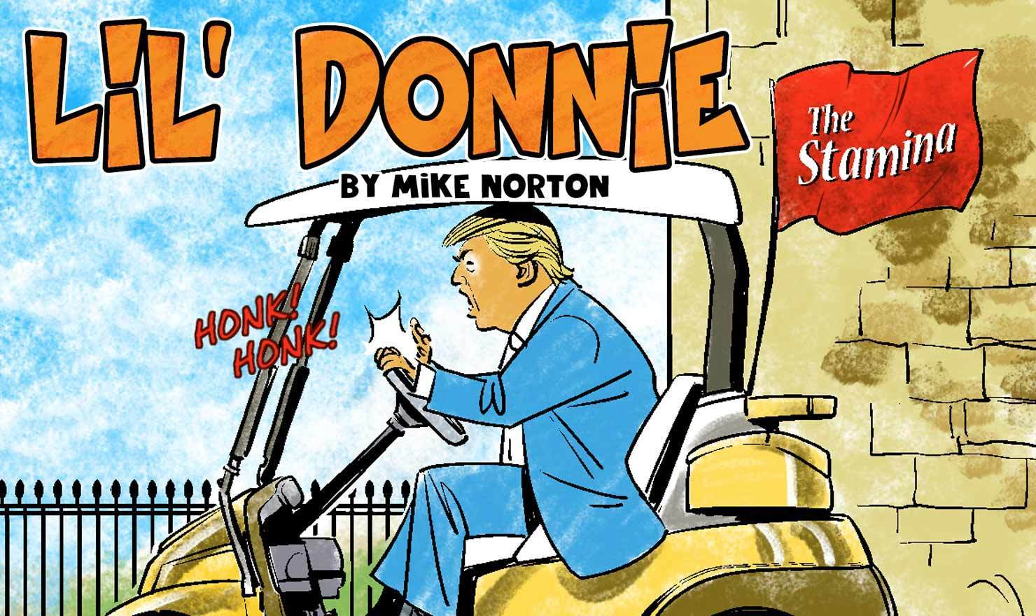 Meet Your Creator: Mike Norton Of 'Lil' Donnie'