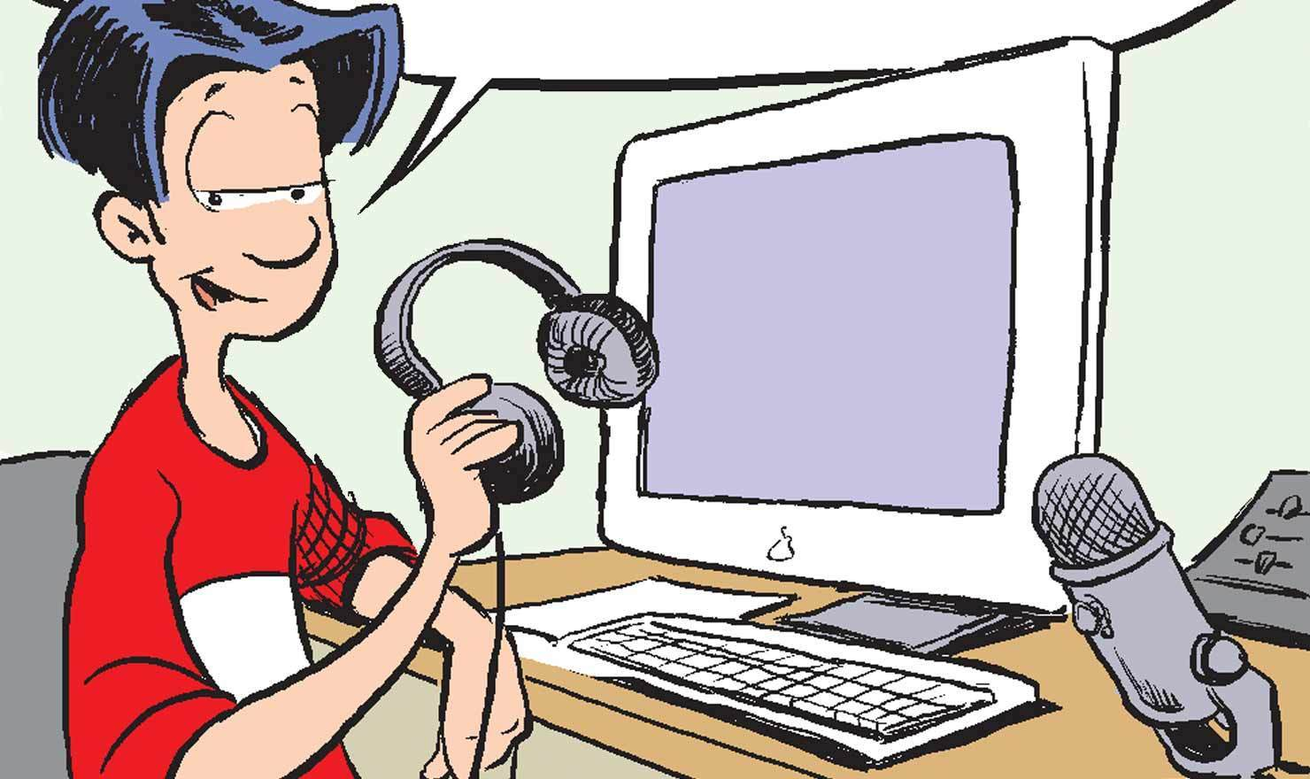 10 International Podcast Day Comics To Download To Your Eyeballs
