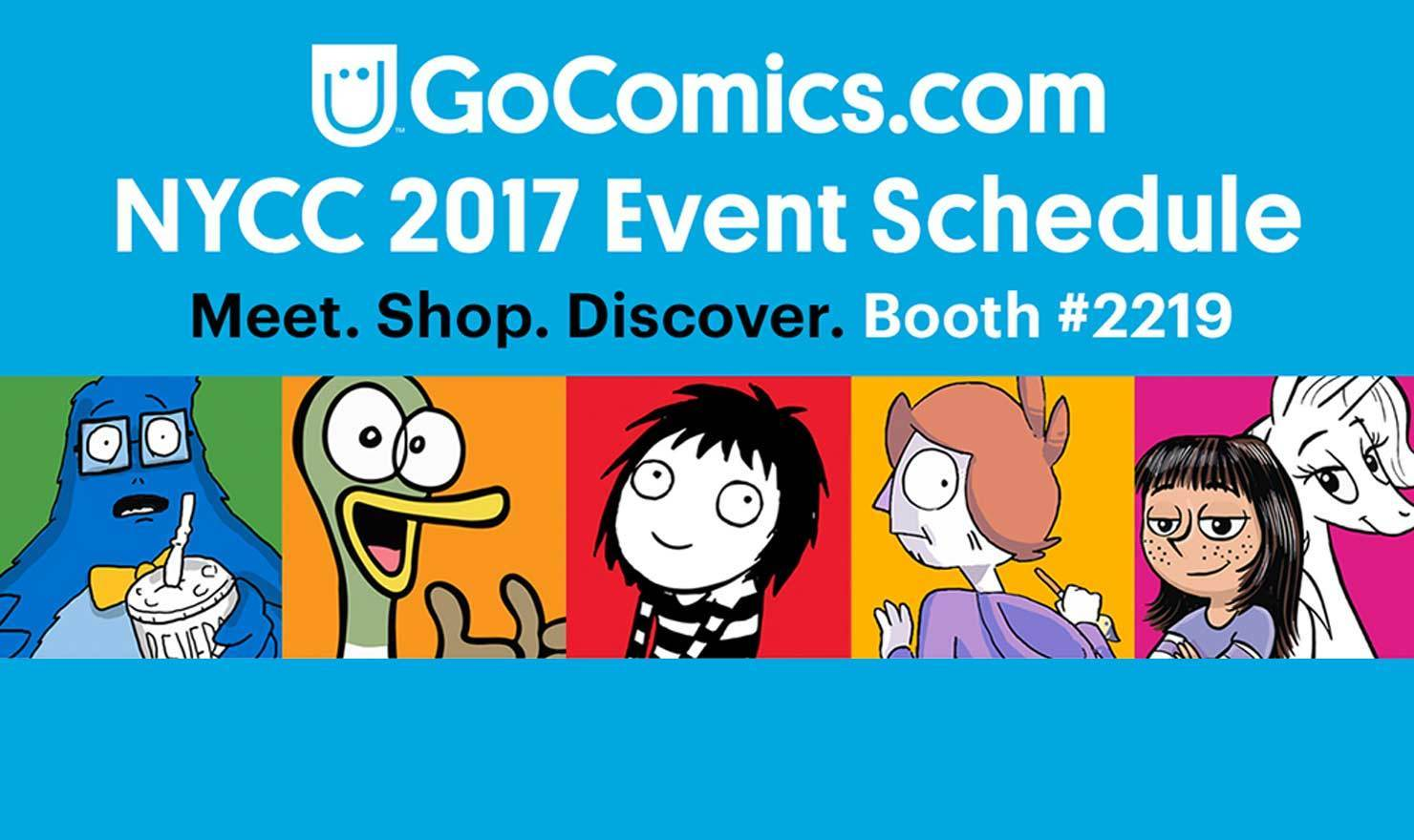 GoComics At New York Comic Con 2017!