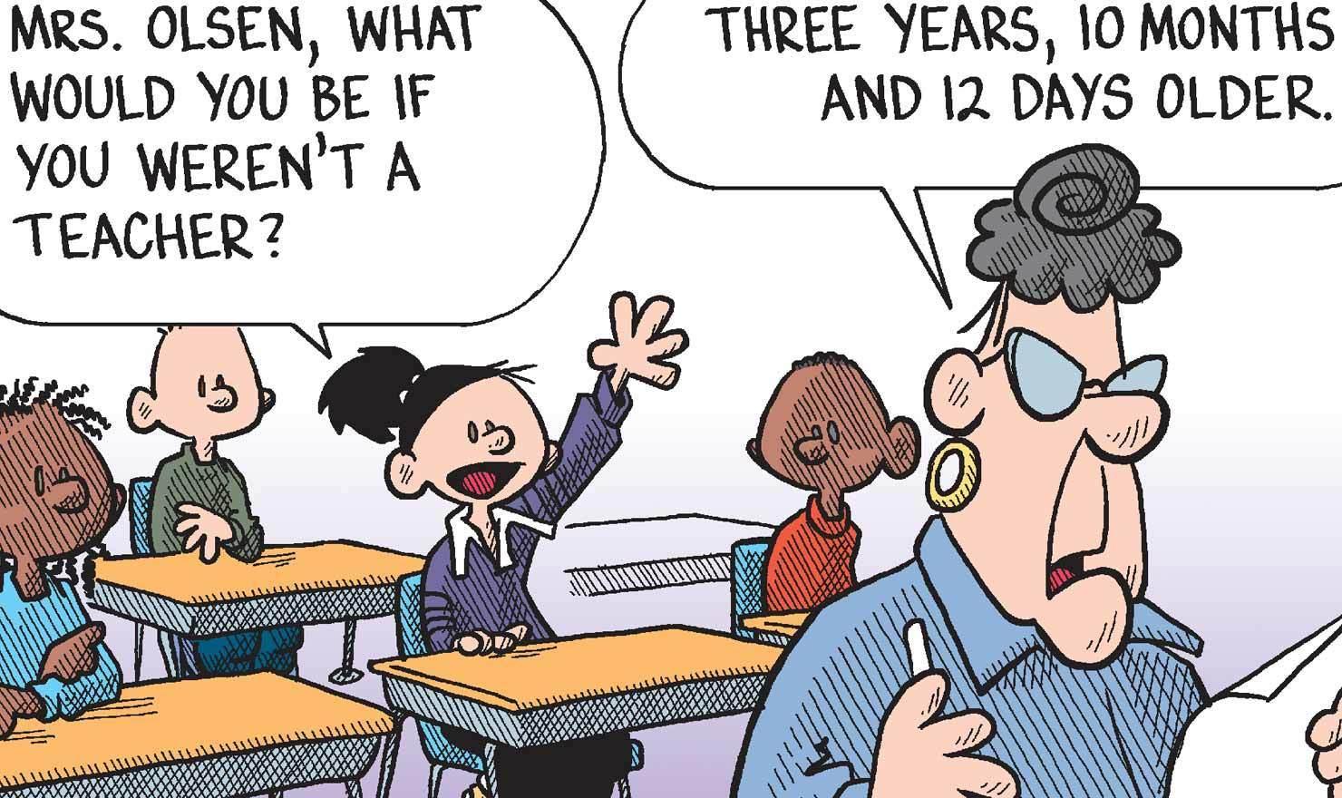 10 Of The Crabbiest Teacher Comics For NationalTeacher Day