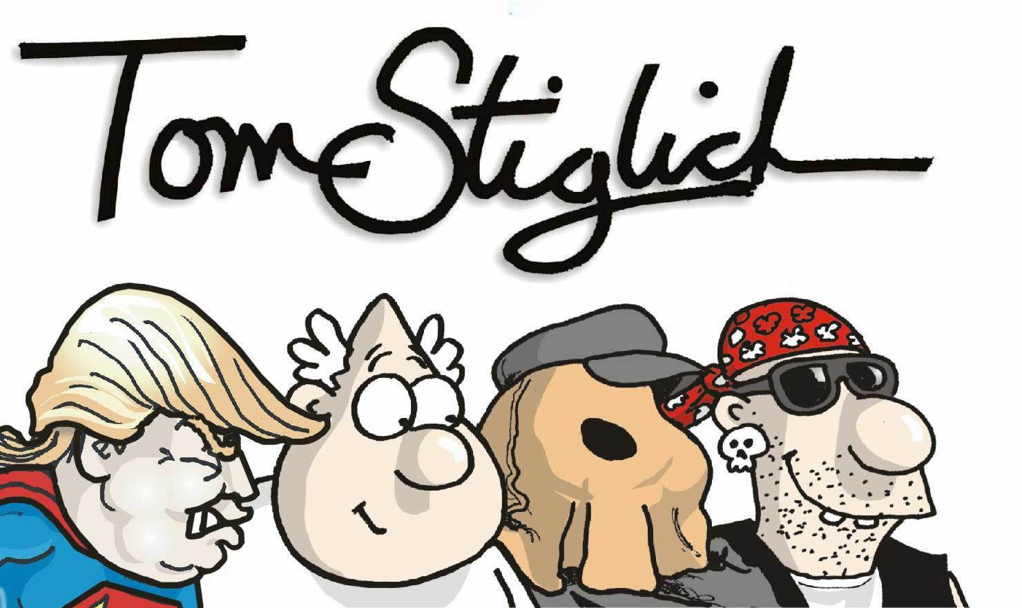 New Comic Alert: Tom Stiglich