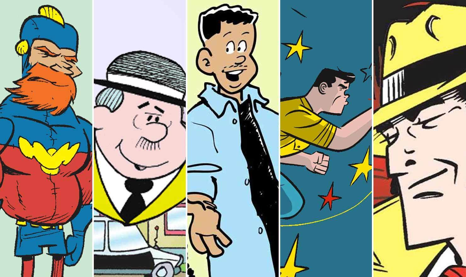 5 Comics For Cartoonists Against Crime Day