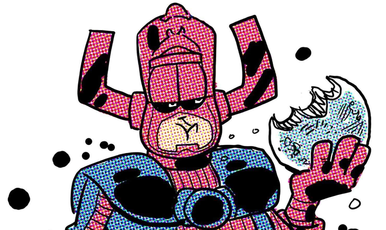 'Garfield' Creator Jim Davis Pens Galactus Story For Marvel Comics