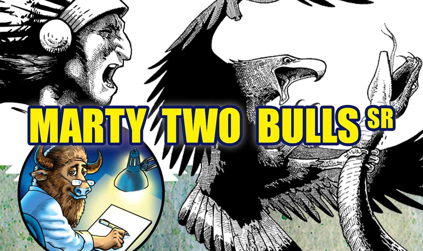 New Comic Alert: 'M2Bulls' By Marty Two Bulls Sr.