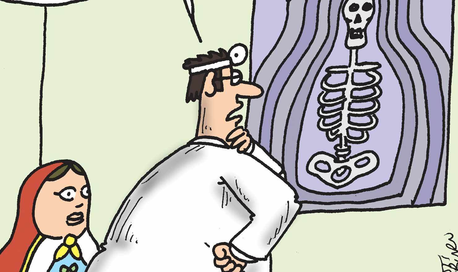 Look Through These 10 X-Ray Day Comics
