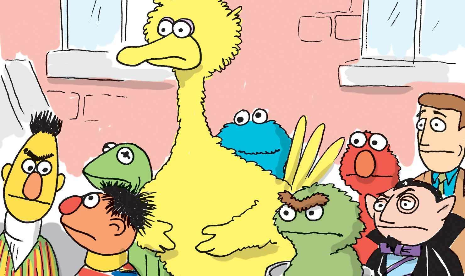 10 Comics That Show You How To Get To Sesame Street (Day)