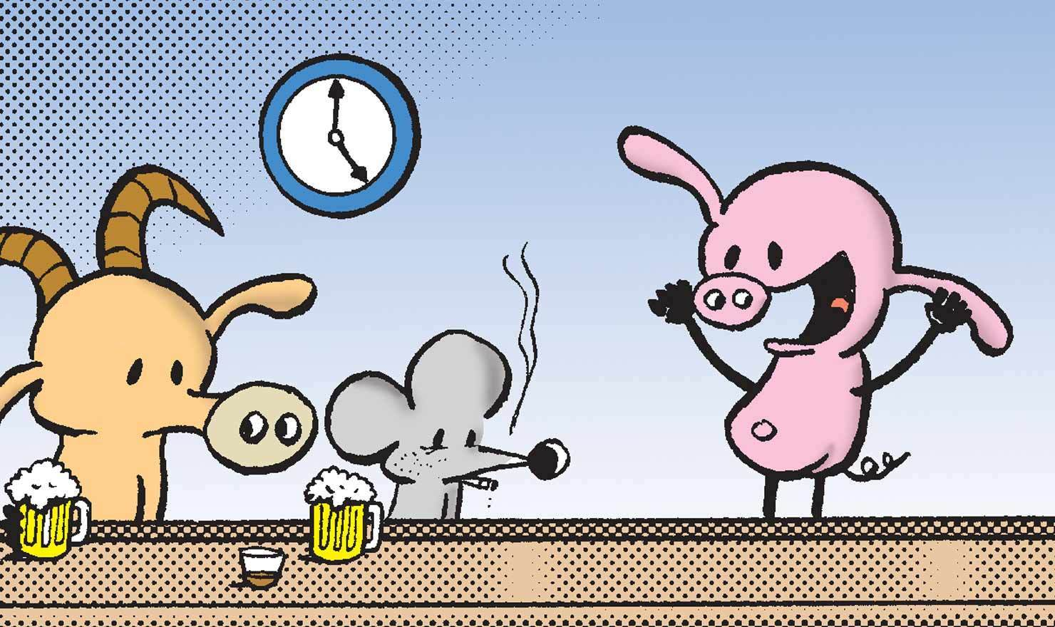 Here's To Happy Hour Day: 10 Totally Toastable Comics