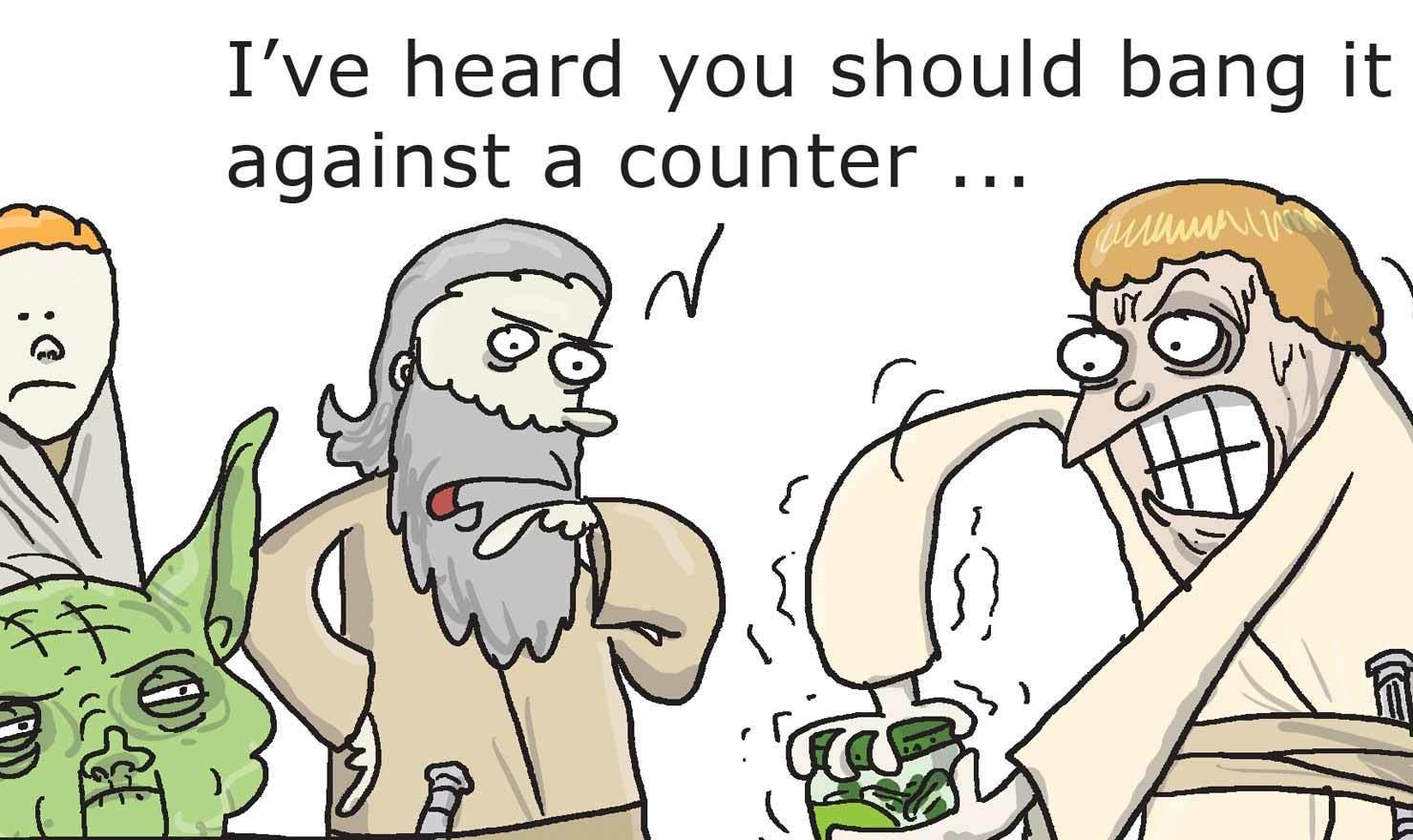 12 Jarring Pickle Day Comics