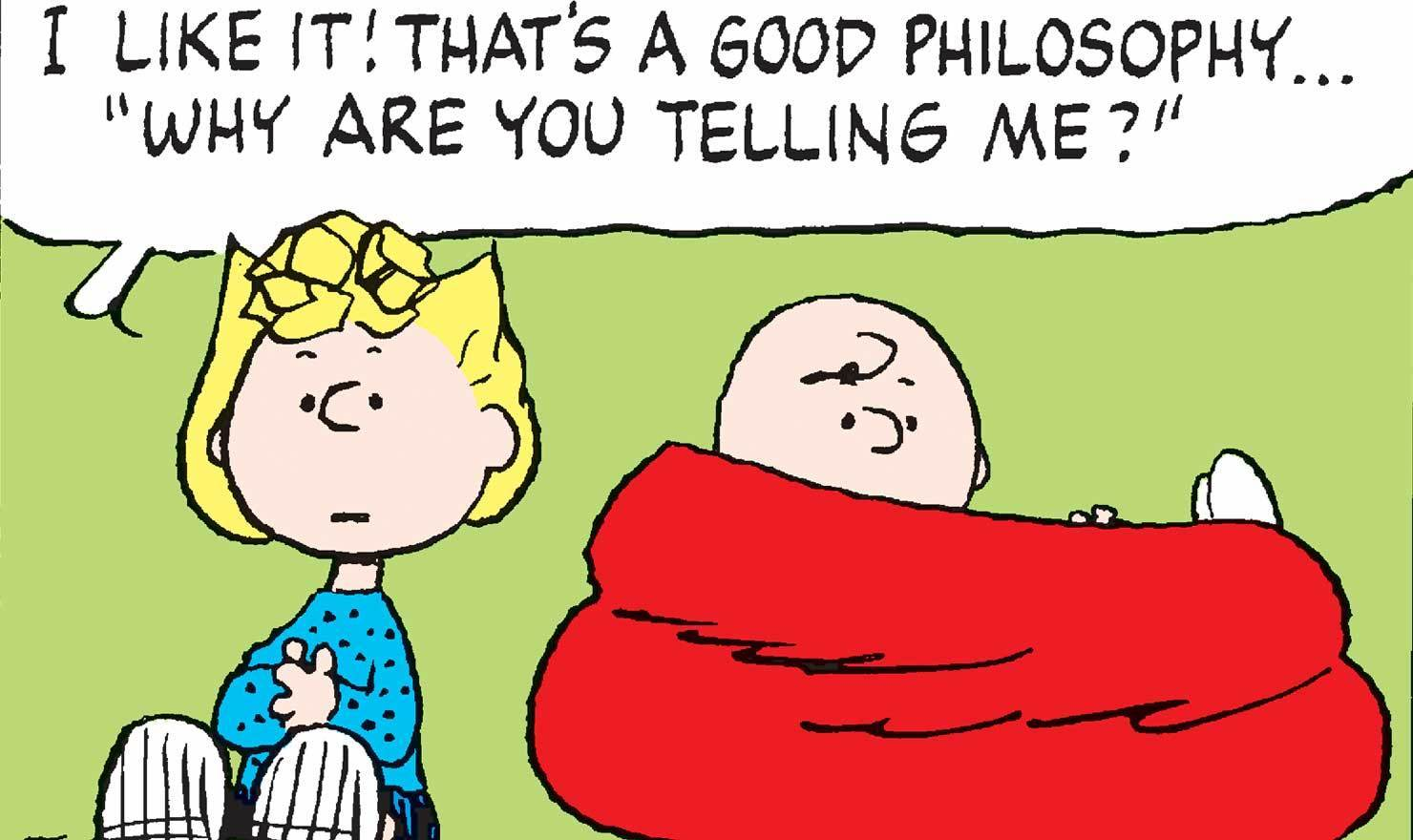 The Dao Of Sally: 10 'Peanuts' Comics Perfect For Philosophy Day