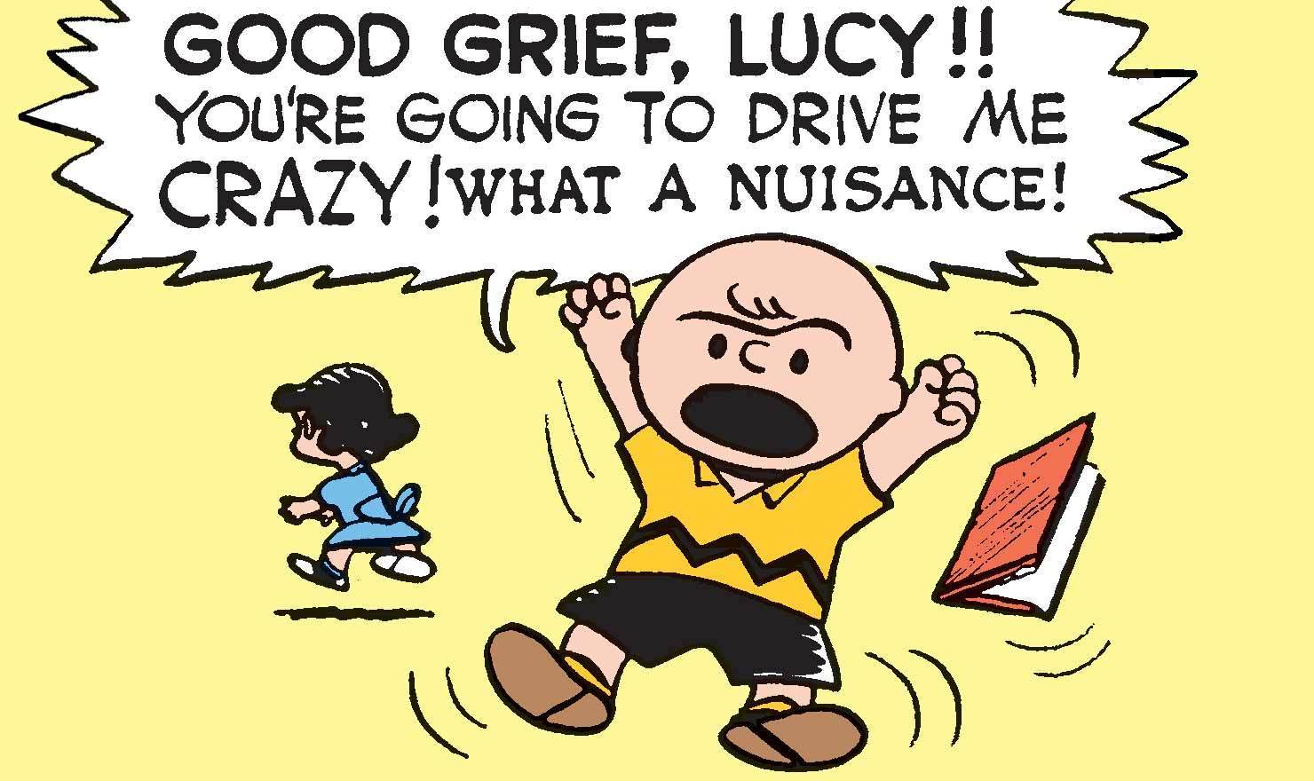 Good Grief! 10 Exclamatory Comics For Charles Schulz's Birthday