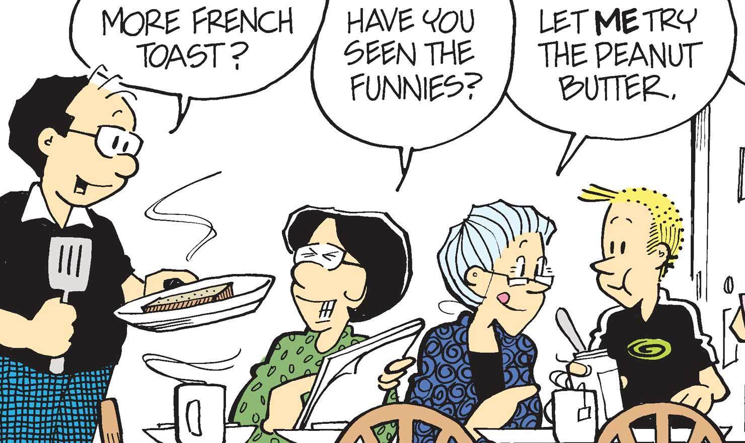 French Toast Comics