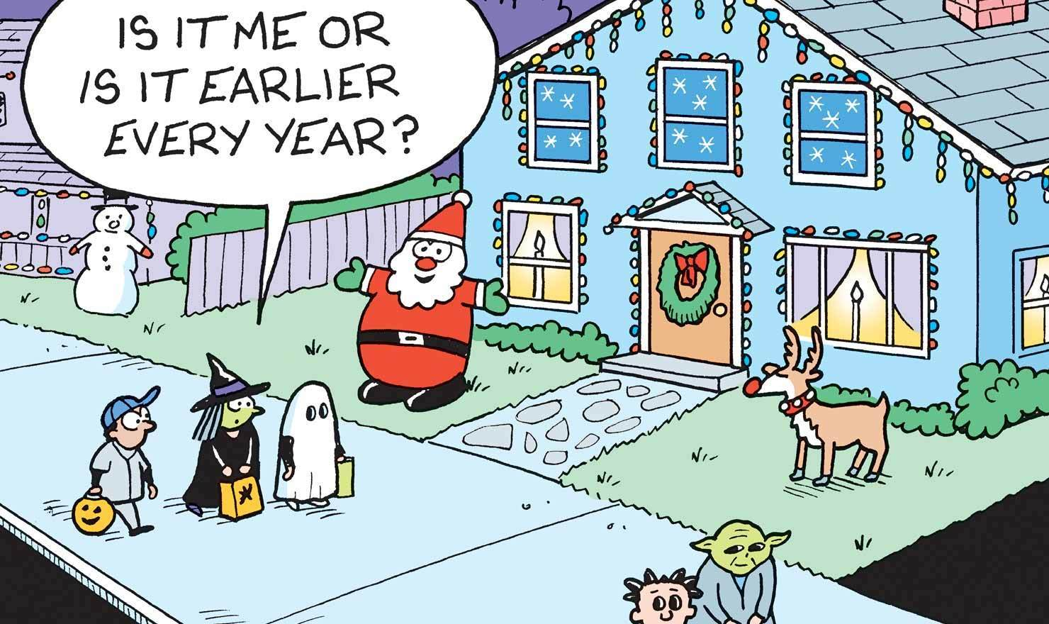 11 Comics To Hype You Up For Holiday Decorating
