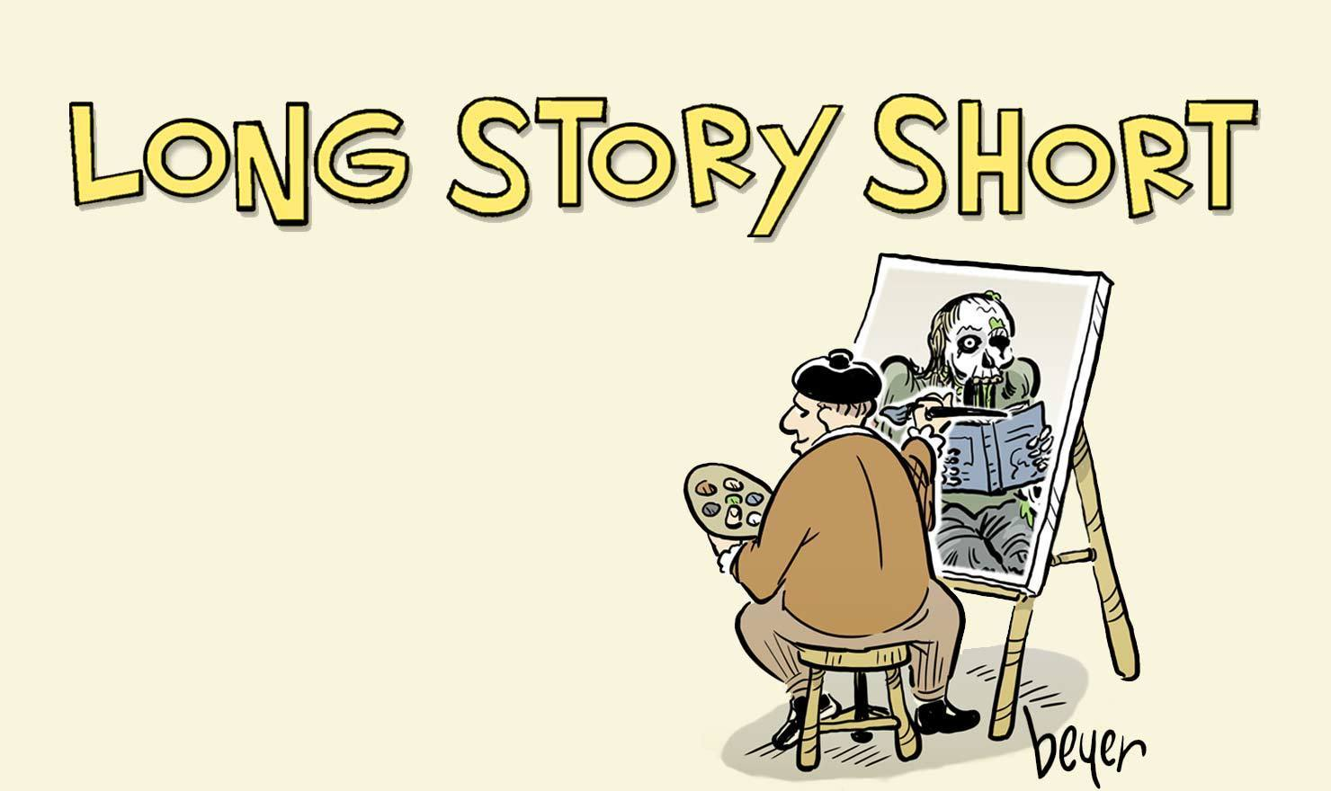 New Comic Alert:  'Long Story Short' By Daniel Beyer