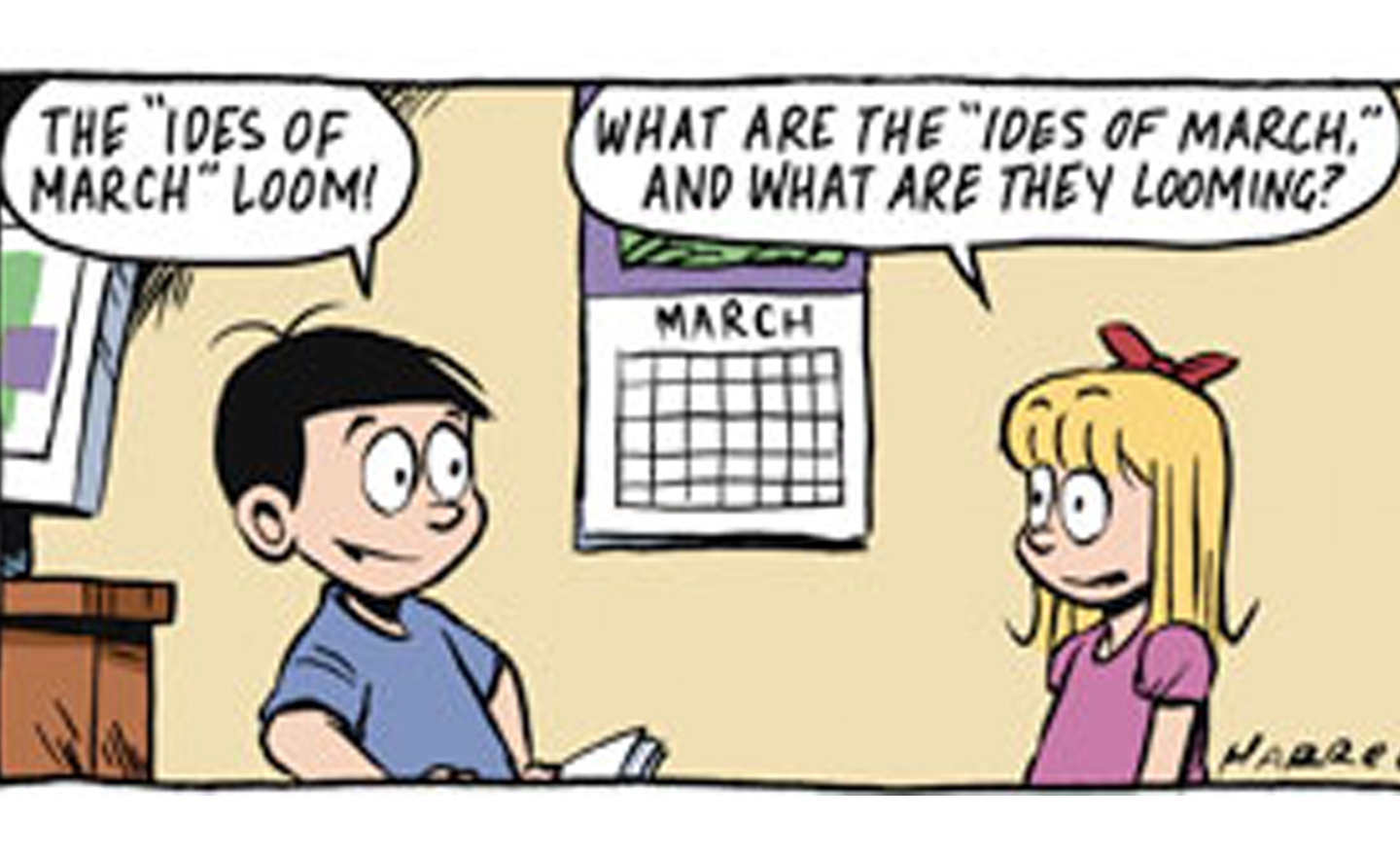 Be Warned! The Ides of March Comics are Upon Us!