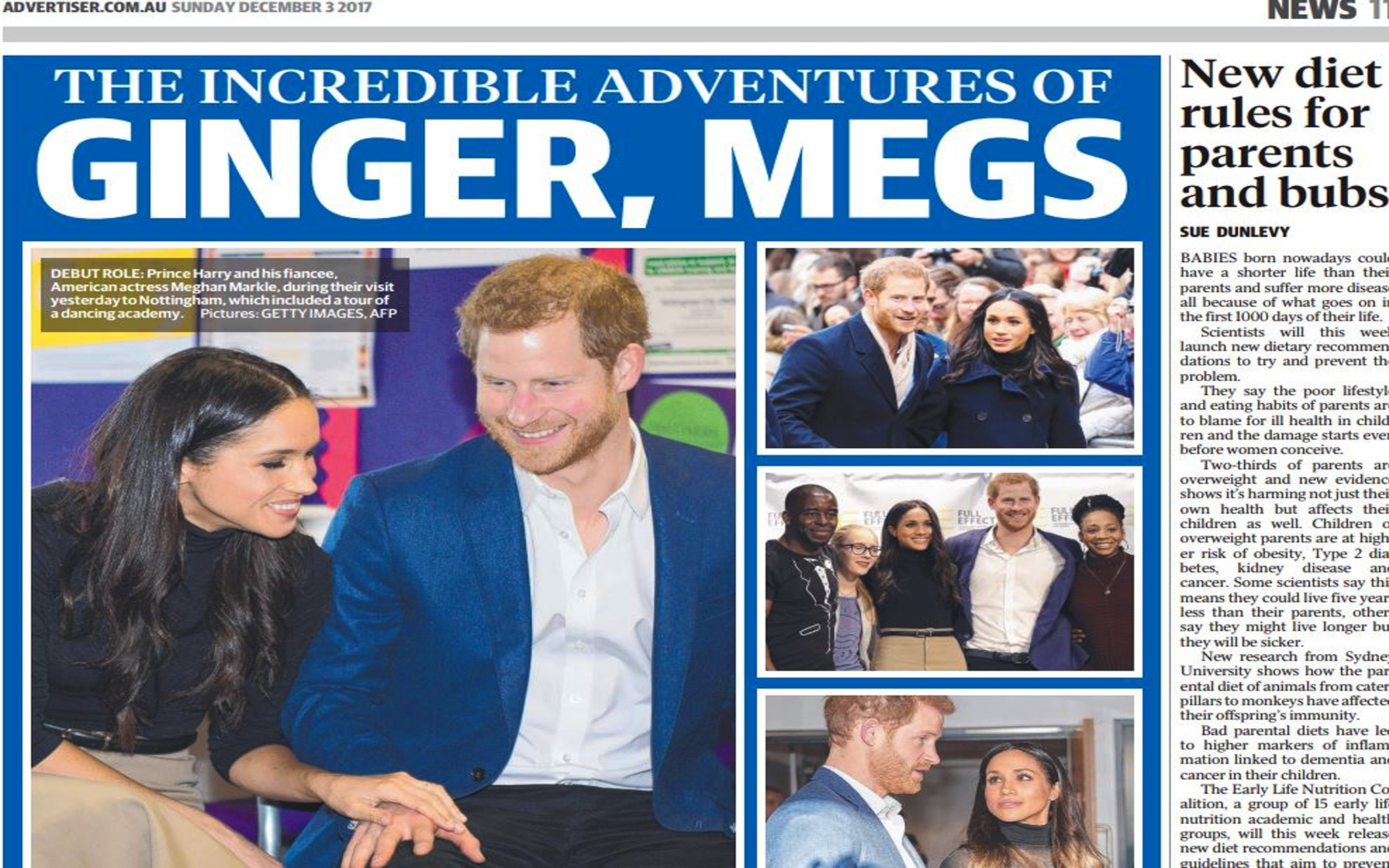 A Classic Mashup: Ginger Meggs and Prince Harry's Royal Wedding