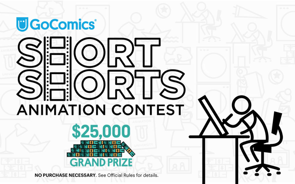 GoComics' Short Shorts Animation Contest is Now Open