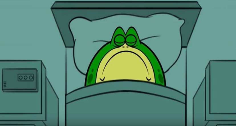 Animated Short Proves That Frogs Hate Mondays, Too