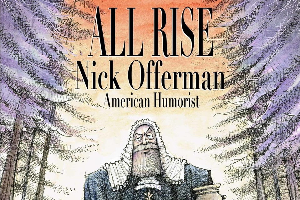 Matt Davies Creates Official Art for Nick Offerman Tour