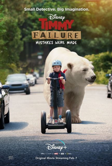 Stephan Pastis' 'Timmy Failure' Movie to Debut on Disney Plus