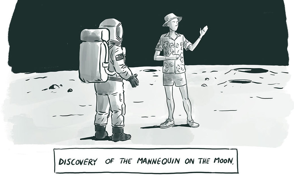New Comic Alert: Mannequin on the Moon
