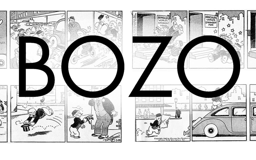 A Firsthand History of 'Bozo', the World's First Pantomime-Style Strip